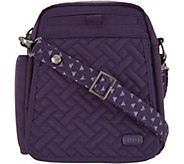 Lug RFID Convertible Crossbody Bag w/ Bonus Strap - Flapper - F12881