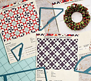 Crafters Edge Quilting Fabric-Cutting Die Set Bundle - F13081