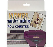 The Ultimate Sweater Machine Row Counter - F156381