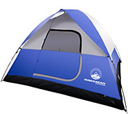 Wakeman Outdoors 6-Person Tent with Rain Fly and Bag - F250183