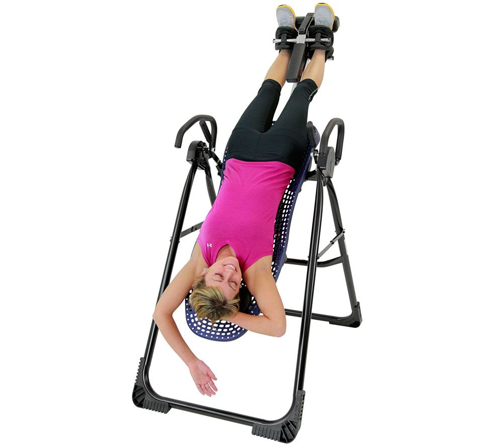 Teeter Hang Ups EP 950 Plus Inversion Table With Ergonomic Flex Technology    Page 1 U2014 QVC.com
