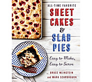 All-Time Favorite Sheet Cakes & Slab Pies Cookbook - F13084