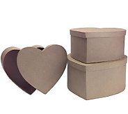 Decorator & Craft Papier-Mache Boxes - F187284