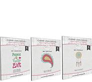 Cheery Lynn Designs Bohemian Word Die Set Bundle - F250385