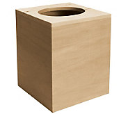 Basswood Boutique Tissue Box - F187286