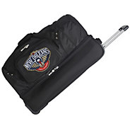 NBA 27 Rolling Duffel Bag - F249286