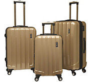 Travelers Club 3-Piece Hardside Spinner LuggageSet - Rio - F249386