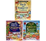 Fix-It and Forget-It 3-Pack Cookbook Gift Set by Phyllis Good - F11987