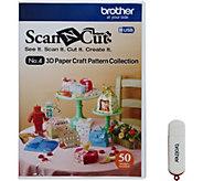 Brother ScanNCut 3D Paper Craft USB - F250287