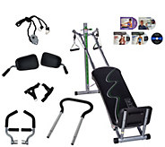 Total Gym 20th Anniversary Supreme with 7 Attachments and 5 DVDs - F12188