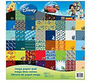 Disney Mega Paper Pad - Boy Designs - F250688