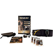 The Flex Belt Abdominal Toning Belt System with Extra Gel Pads - F12189