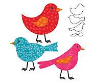 GO! Fabric Cutting Dies It Fits! - Birds - F246690