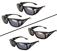 PolarShield Set of 2 Fits Over Sunglasses by Foster Grant - F11791