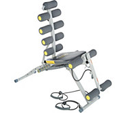 Rock Gym 6-in-1 Total Body Trainer with DVD & Meal Plan - F12791