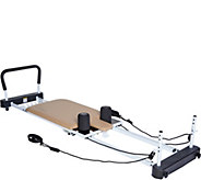 AeroPilates 5-Cord Pro Reformer with Rebounder - F13091