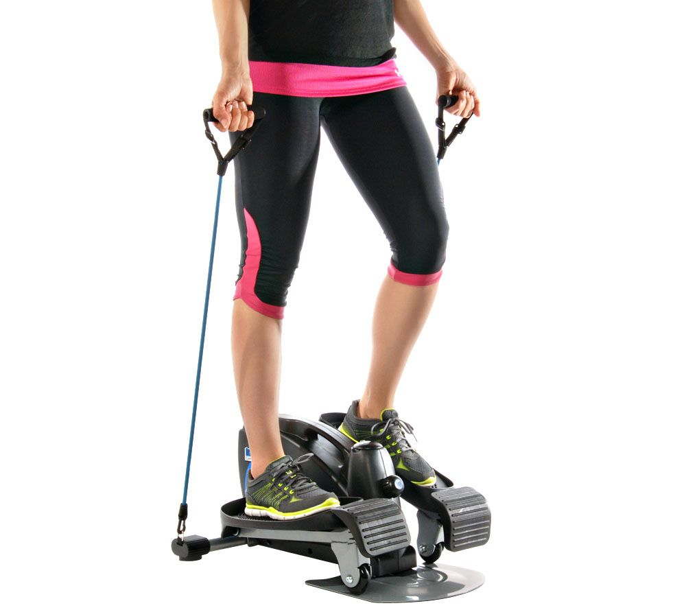 inmotion compact elliptical with convertible foot pedals page 1 u2014 qvccom