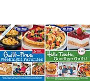 Mr. Food Test Kitchen Set of 2 Cookbooks by ADA - F12192