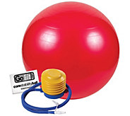 GoFit GF-55BALL 55cm Exercise Ball with Pump - F195494