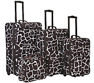 Fox Luggage 4pc Luggage Set - F249094