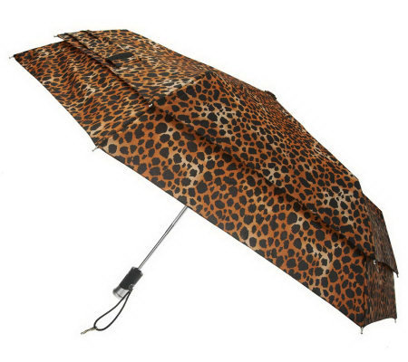 Windguard Automatic Open and Close Umbrella with LED Handle
