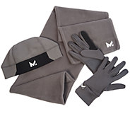 Mission RadiantActive Mens Scarf, Gloves & Beanie Gift Set - F12396