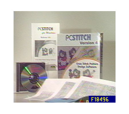 PC Stitch Cross Stitch Pattern Design CD-ROM