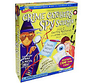 Scientific Explorer Crime Catchers Spy Science Kit - F247997