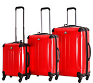 Triforce Luggage 3-Piece Spinner Luggage Set -Apex Honeycomb - F250197