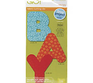 GO! Fabric Cutting Dies - 2 Shapes - F195898