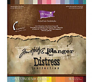Coredinations 12x12 Tim Holtz Distressed Cardstock Sheets - F247198