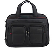 Travelers Club 17 Flex-File Laptop Briefcase - F249398