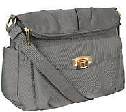 Travelon Pleated Flopover Bag - F11799