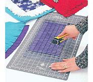 Fringe Cut Slotted Ruler - F157599