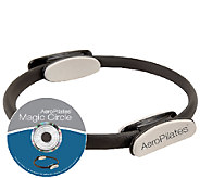 AeroPilates Magic Circle with Sculpt & ReshapeWorkout DVD - F248799