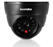 SecurityMan SM-320S Dummy Indoor Dome Camera w/LED - H187000