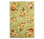 Royal Palace Watercolors Silhouette 3 x 49 Handmade Rug - H193600