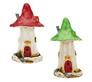 OGowna Large or Small Mushroom Fairy House - H206300