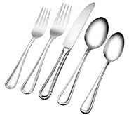 ED On Air Hampton Forge 18/10 67pc Flatware Set by Ellen DeGeneres - H207100