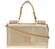 Petite Handbag with Detachable Chain by Lori Greiner - H211200