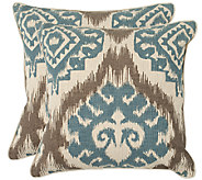 Safavieh Set of 2 22 x 22 Amiri Pillows - H285400