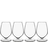 Luigi Bormioli T-Glass Set of Four 15-oz Reisling Glasses - H291600