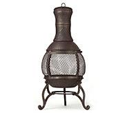 Cast Iron 15 Corona Chiminea - H294600