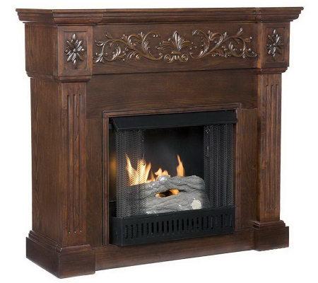 Prestonwood Gel Fuel Fireplace