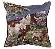Mustangs Pillow by Simply Home - H161001