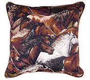 &quotHorse of a Different Color&quot Pillow by Simply Home - H188001