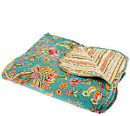 Quilted Reversible Throw by Valerie - H203501