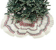 ED On Air 60 Knit Fair Isle Tree Skirt by Ellen DeGeneres - H207101