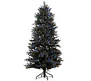 As Is ED On Air Santas Best 9 Snow Drift Fraser Tree - H208201