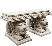 Design Toscano Grand Lion of St. Johns SquareBench - H293801